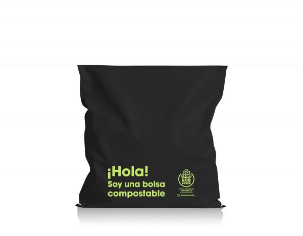 Bolsa mediana 100% Compostable